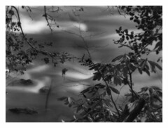 river8 (jaaaney) Tags: bw film river eos5