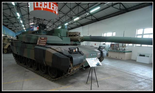 Saumur Tank Museum Leclerc (1)