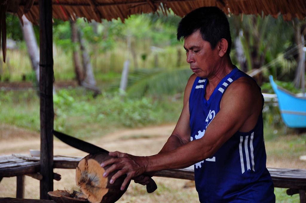 coconut man by denAsuncioner, on Flickr