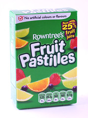 Nestle Fruit Pastilles Box