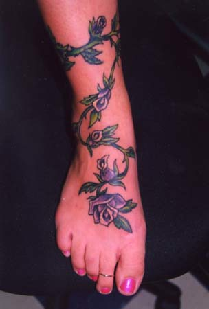 rose vine tattoos. Rose Vine. Tattoos by Lisa