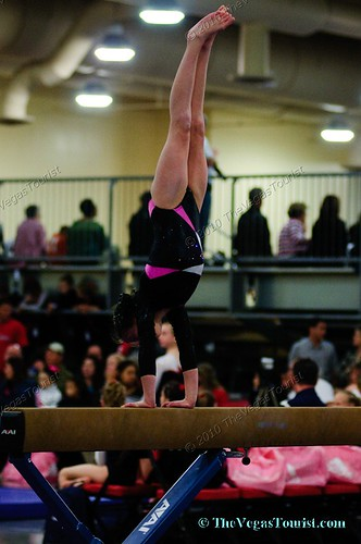 Lady Luck Invitational Gymnastics - January 15 to 17, 2010 at the South Point Casino