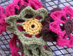 Close-up of Garden Scarf #2
