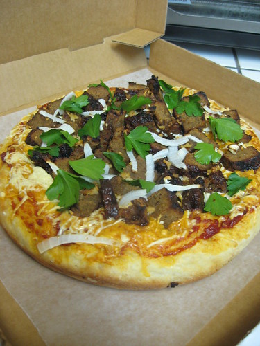Vegan BBQ Pizza for Jason Ellis