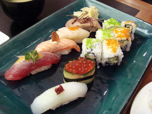 Newstyle sushi set@Yuuga GC