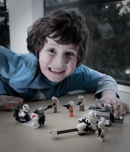 Saturday Afternoon Lego with Finn
