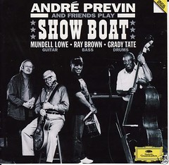 ANDRE PREVIN CD Show Boat MUNDELL LOWE Ray Brown DG