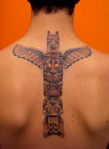 Totem by bobqueiroztattoos