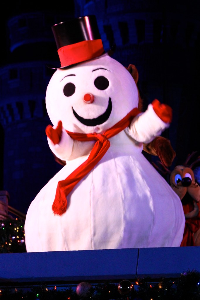 Frosty the snowman at disney character central