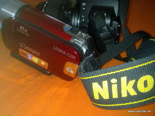 canon camera and nikon camera