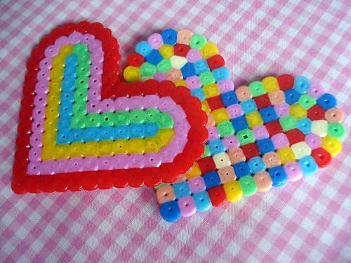 hama hearts