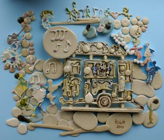 Street Music (rob.hendriks) Tags: sculpture abstract art ceramic mural ceramics visualarts relief tiles clay pottery porcelain