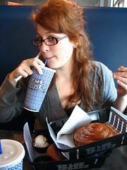 Katherine at Blue Baker