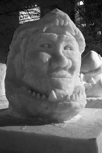 Godzilla/Matsui Sculpture