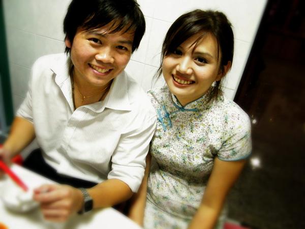 Wai Meng & Pei Wen , aka our Ah Gong & Ah Ma