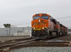 BNSF 7575 ES44DC (knelson27) Tags: train pacific union trains locomotive bnsf c45 p42 c44 mp15