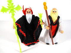 Sorcerer & Wizard (WEBmikey) Tags: toys dandd