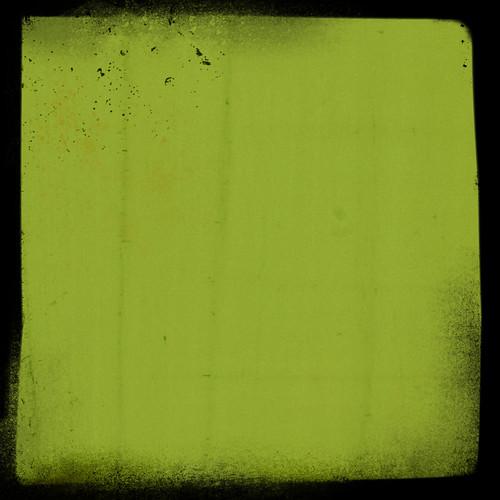 green frame border