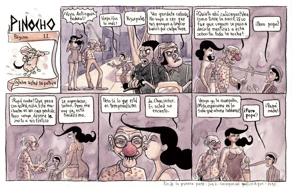 Página 11: Salve usted la patria