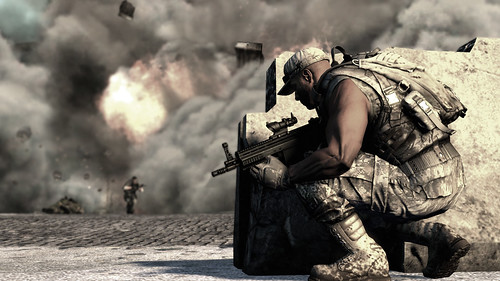 SOCOM 4 screenshot Explosion