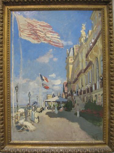 Claude Monet, L'hotel des Roches noires, Trouville, 1870