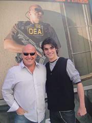 Breaking Bad stars Dean Norris (Hank) and RJ M...