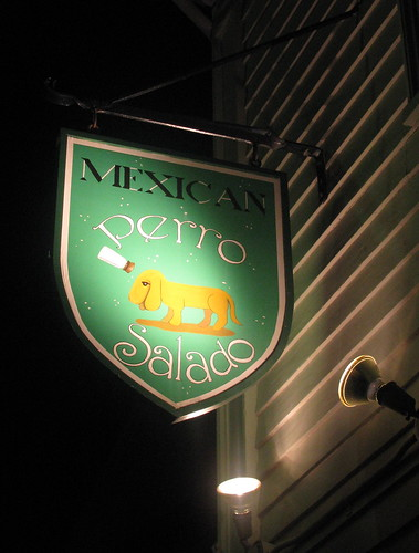 Perro Salado Sign