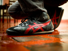 6c98ead8ab Onitsuka Tiger de Raul (Bambino Bambola) Tags  barcelona red black color  walking nombres
