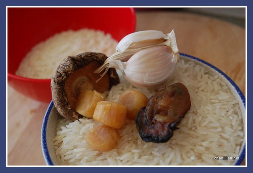 dried scallop and oyster porridge