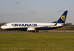 EI-DAZ - 33559 - Ryanair - Boeing 737-8AS - Luton - 071106 - Steven Gray - IMG_4519