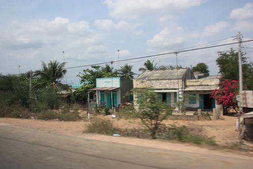 Views from the mini van on the way to Saigon