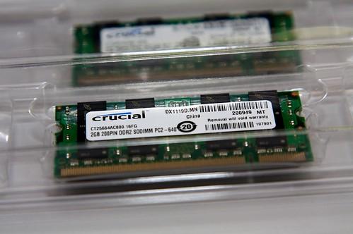 Crucial Memory Kit for iMac
