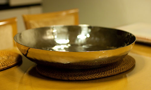 Side view of our new bowl