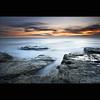 Dreamy Rock (Reed Ingram Weir) Tags: longexposure sea sky hot rock clouds sunrise coast milk nikon smooth burning northumberland nd coastline dreamy whitleybay 2470 stmarysisland gnd 10stop leefilters d700 bigstopper 09s reedingramweir wwwreedingramweircouk