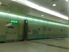 Taoyuan station platform