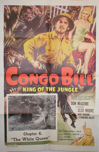 CONGO BILL (1948) Chapter Six One Sheet