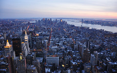 (elleennn) Tags: new york city building state empire nikond90 chystler