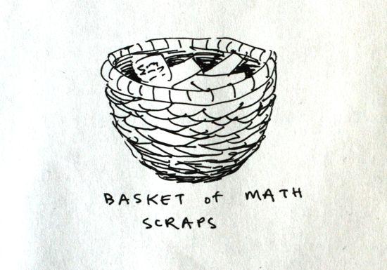 math scraps