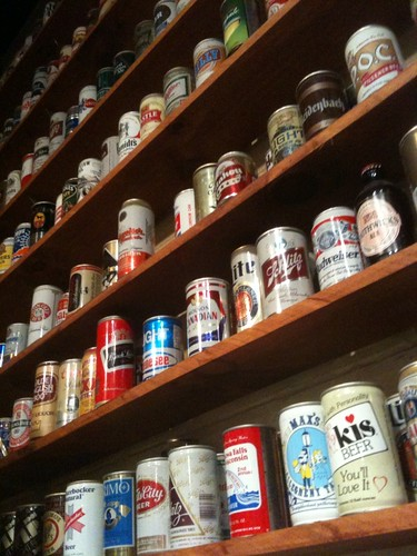 Beer Can Wall at Harpoon