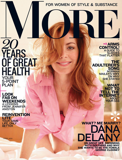 Dana Delany - More April 2010