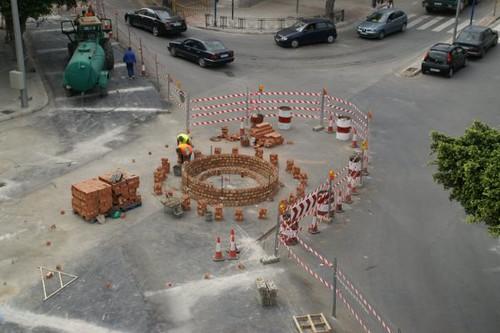 Construcción Rotonda Cuatro Caminos 10