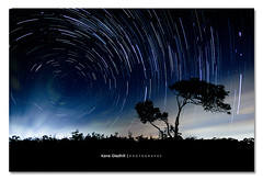 Chaotic Star Mist ([ Kane ]) Tags: longexposure blue winter sky mist night clouds canon dark stars star dusk spin nighttime qld queensland nightsky kane cp celestial startrails lota gledhill sigma1020 50d southstar kanegledhill celestialpoles kanegledhillphotography