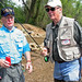 Brigadier Gen. Jerry Bradford gets a few quick tips before heading into the Chattahoochee River