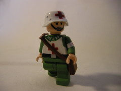 wehrmacht field medic ww2 LEGO (MR. Jens) Tags: lego ww2 custom medic