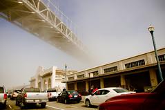 disappearing act 3 (the aliens) Tags: sanfrancisco california winter usa fog nowhere baybridge thick pier28 tamron1750 opague nikond90 12000secatf28