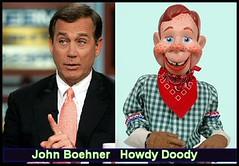 Howdy Doody John Boehner