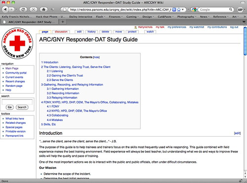 ARC/GNY wiki dev site