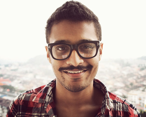 selfportrait loving happy glasses it mustache tomford