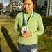 Rosie Sanchez, 114 Boston Marathon, 19 April 2010.