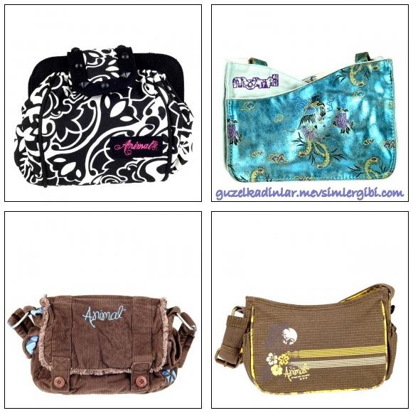 animal mormaii bayan 2010 2011 en yeni son moda yazlık spor kol çantası modelleri